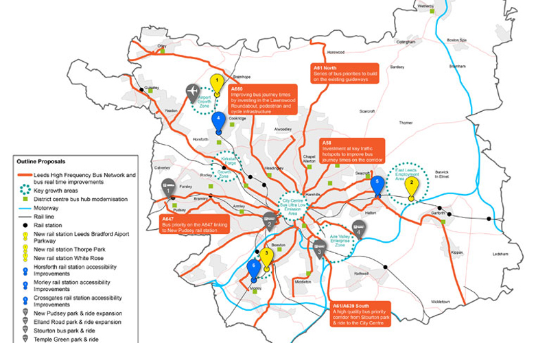 Leeds Mass Transit Plans