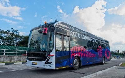 The Volvo AB – Driverless Bus